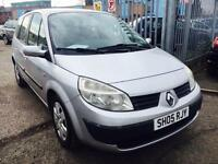 RENAULT GRAND SCENIC1.6 RUSH PETROL MANUAL 2005 7 SEATER