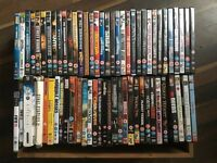 DVDS x 60 ALL MIXED GENRES! PLUS FEW GAMES