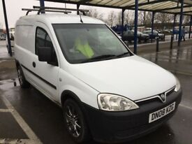Vauxhall Combo Van with the rack on top available £1900; MOT until next year January
