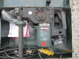 Matabo Rotery SDSMax drill and hammer (for parts only)