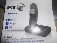 BT Answer machine 3 phone set