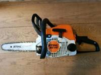 Stihl MS170 Chainsaw 2016 Mint Condition