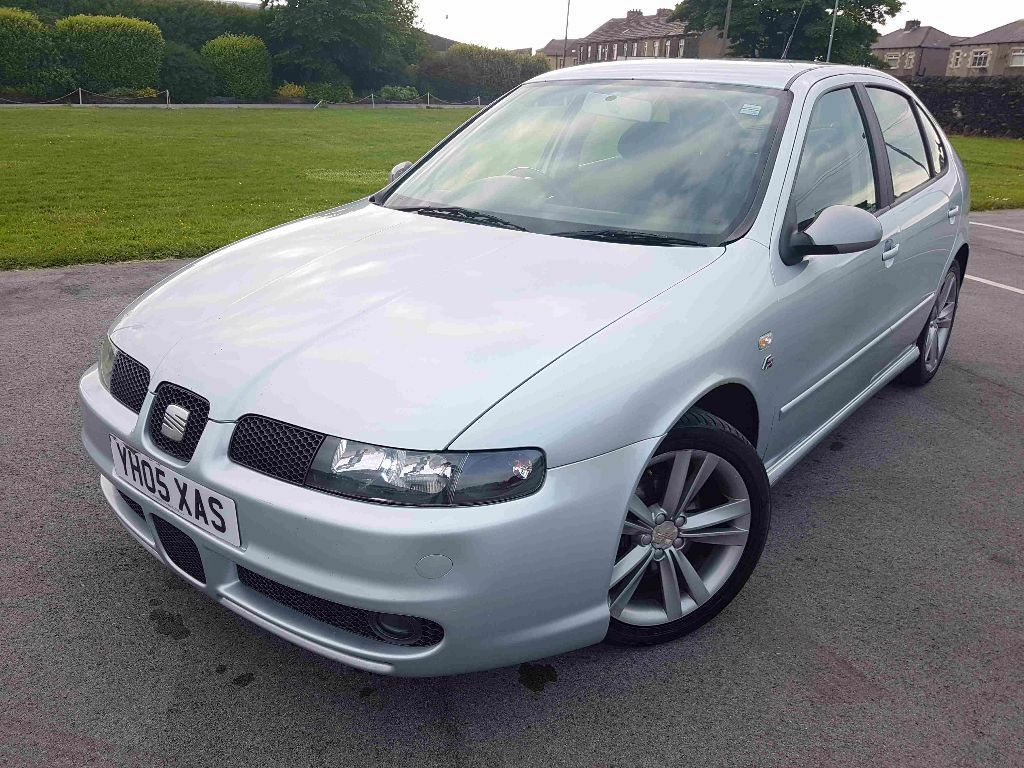 2005 seat leon 1 9 tdi fr 150 bhp pd arl reliable engine. Black Bedroom Furniture Sets. Home Design Ideas