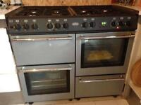 Dual fuel Belling 8 ring cooker