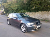 2007 BMW 118D SE,6 SPEED MANUAL,1 FORMER KEEPER,2 KEYS,VERY GOOD CONDITION,07512555462