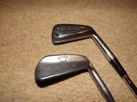 Golf clubs: Blade style 3 & 8 irons. Free to good home.
