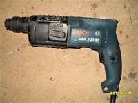 Bosch hammer drill 110volt with case