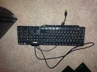 Dell Qwerty USB English UK Black Keyboard Computer PC