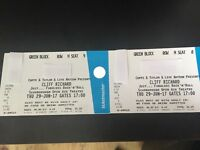 2 Cliff Richard Concert Tickets