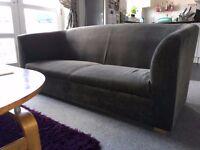 Cute, Grey, modern 2/3 seat Sofa - Very clean, no smoking / pets home