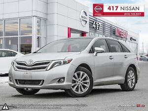 2014 Toyota Venza Limited AWD | Navi, Leather, Pano Sunroof