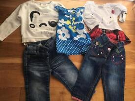 Next & Zara Baby girl bundle 9-12 & 12-18 Excellent Condition