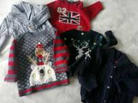 Boys jumpers 6-9 months