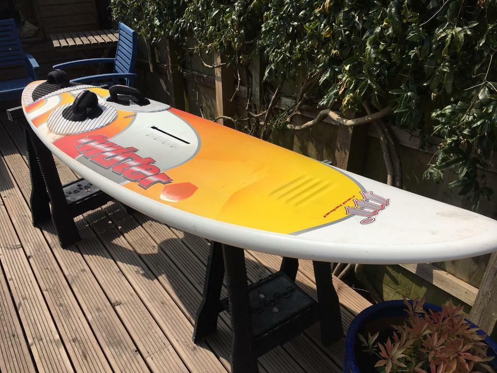 Mistral twister 102 windsurfing board   in Exmouth, Devon   Gumtree