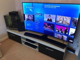 2 Metre 200CM 2 Door Extra Wide TV Stand