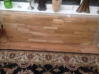 2x Solid oak kitchen surfaces brand new