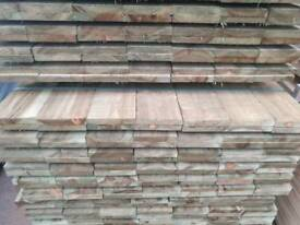 6x1 Tanalised Timber (22mm x 150mm) 4.8mtr Lengths