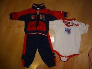 New York Rangers Clothing Set - Size 6-9 months