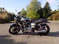 Reluctant sale limited edition Triumph Bonneville motorcycle