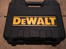 Dewalt xR2 Cordless drill with charger and case