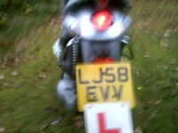 super little moped with two months mot.