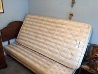 SINGLE BED BASE AND MATTRESS CAN DELIVER