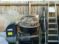 Cement mixer electrical