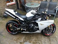 Yamaha YZF R1 2012 TRACTION CONTROL. SPARES OR REPAIR, DAMAGED REPAIRABLE, TRACK ' WEEKEND SALE'