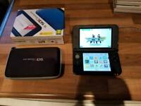 Nintendo 3DS XL with 6 games