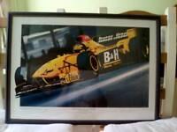 F1 limited edition print, Ralf Schumacher
