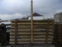 Timber fence post 85mmx1.8m