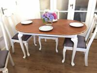 VINTAGE EXTENDABLE TABLE FREE DELIVERY LDN🇬🇧SHABBY CHIC
