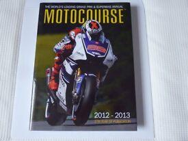 Motocourse Annual 2012 - 2013 37 Year (ex cond)
