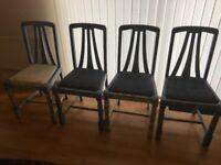 4 x Dining Room Chairs £25 ono.