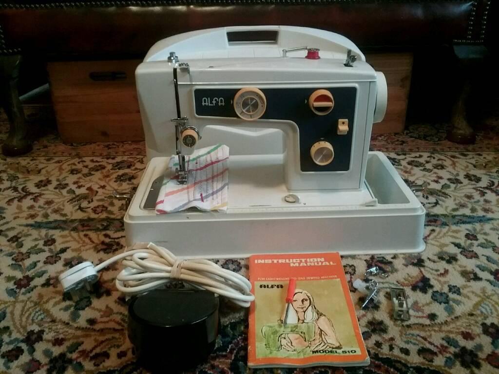 Alfa 510 Sewing Machine Serviced In Norwich Norfolk Gumtree
