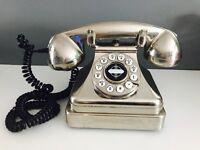 Retro lobby phone
