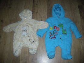 2 x beautiful New born suits