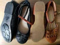 Next girls shoes sizes 1 and 2