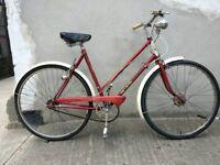 Ladies vintage Raleigh trent tourist bike Bristol UPcycles