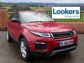 Land Rover Range Rover Evoque TD4 SE TECH (red) 2016-11-30