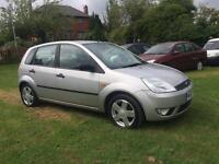 *** 2002 FORD FIESTA 1.4 12 MONTH MOT **