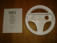 Nintendo Wii Official Steering Wheel As New Condition