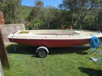 Skipper 14 boat with trailer