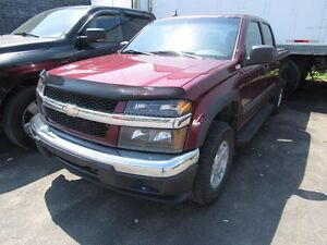2008 Chevrolet Colorado LT (4X4, 4 doors, Trailer Hitch, very cl