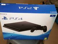 Brand new unopened ps4 1tb