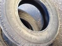 4 All Season Tires 17 Inches $120