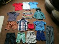 Bundle of boys age 5-6 clothes - next m&s mothercare