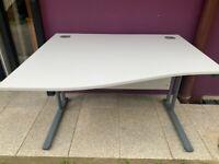 1200 grey wave desk