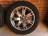 "Range Rover evoque wheels 18"" x4"