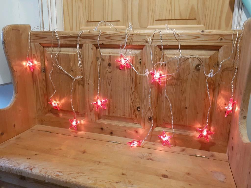 Ikea Glansa hanging red Christmas star lights | in Norwich ...